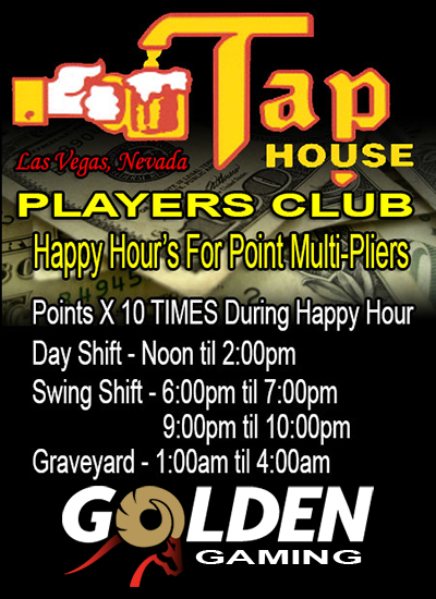 Tap House Bar and Grill Specials